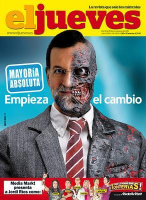 La España azul del PP.