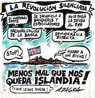 Islandia y España, dos formas de afrontar la crisis!