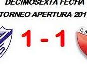 Vélez Sarsfield:1 Colón:1 (Fecha 16°)