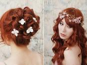 Detalles florales para cabello novias