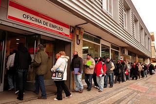 Evoluci n insostenible del paro en espa a previsiones for Oficinas del paro madrid
