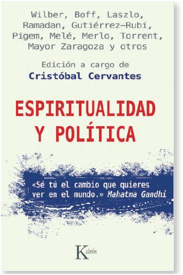 Espiritualidad y política: Descripción del libro.