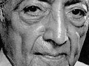 Jiddu Krishnamurti: pleno significado muerte