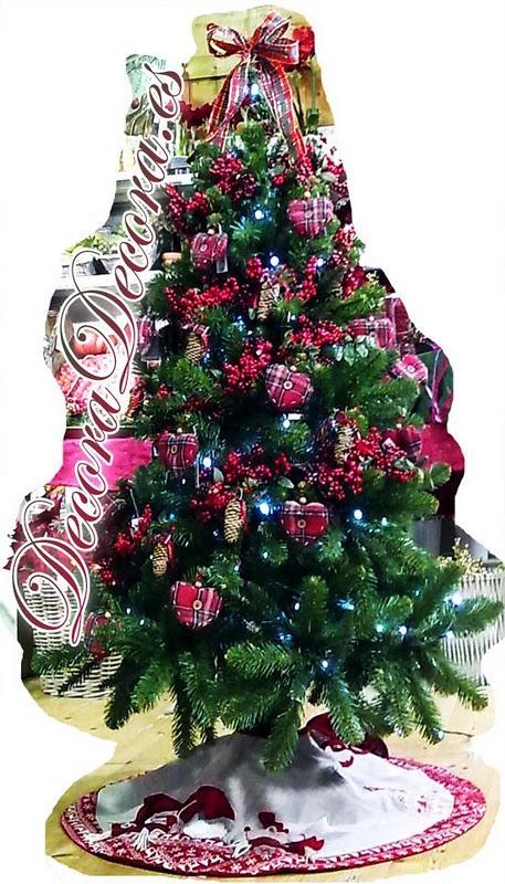 decorar un arbol de navidad tradicional