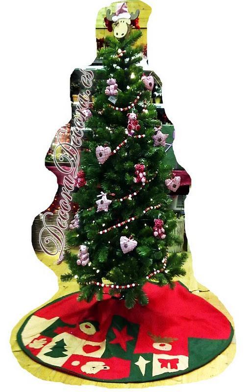 decorar un arbol de navidad infantil