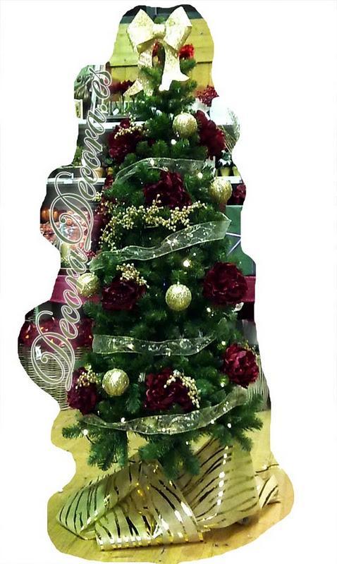 decorar el arbol de navidad moderno