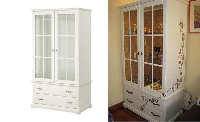 Ikea hack antes y despu s del armario birkeland de - Vinilos conforama ...