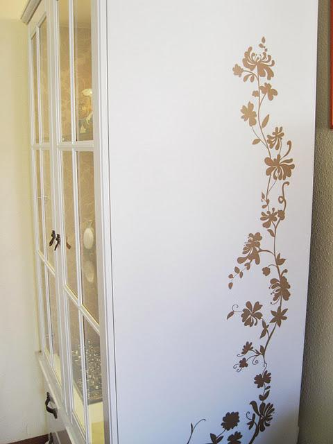 Ikea hack antes y despu s del armario birkeland de - Forrar armarios por fuera ...