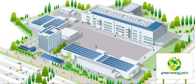 Sanyo Green Energy Park, donde triunfa la energía solar