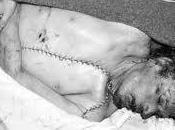 cadáver Gadafi