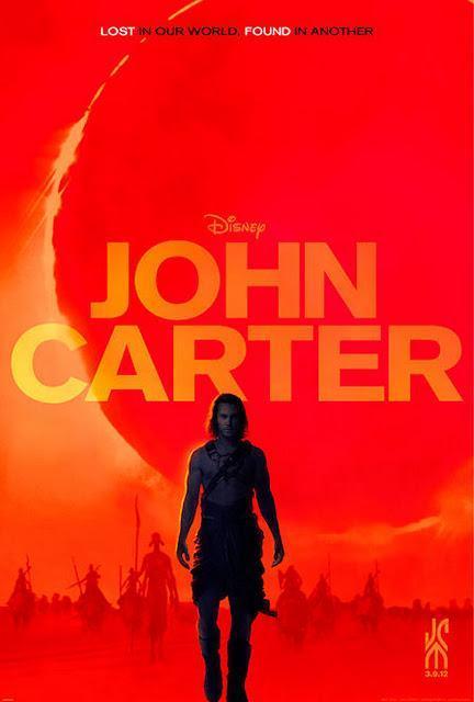 John Carter: póster y espectacular tráiler.