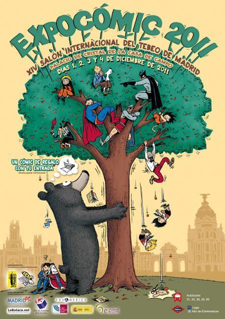 Cartel de Expocómic 2011