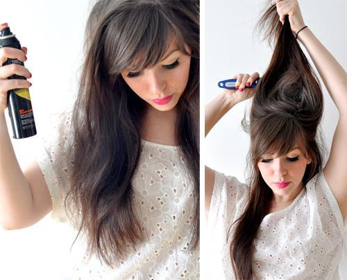 Peinados juveniles faciles