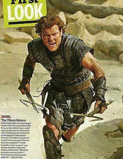 Primer imagen de Sam Worthington como Perseus