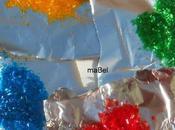 Brillantina comestible casera Glitter