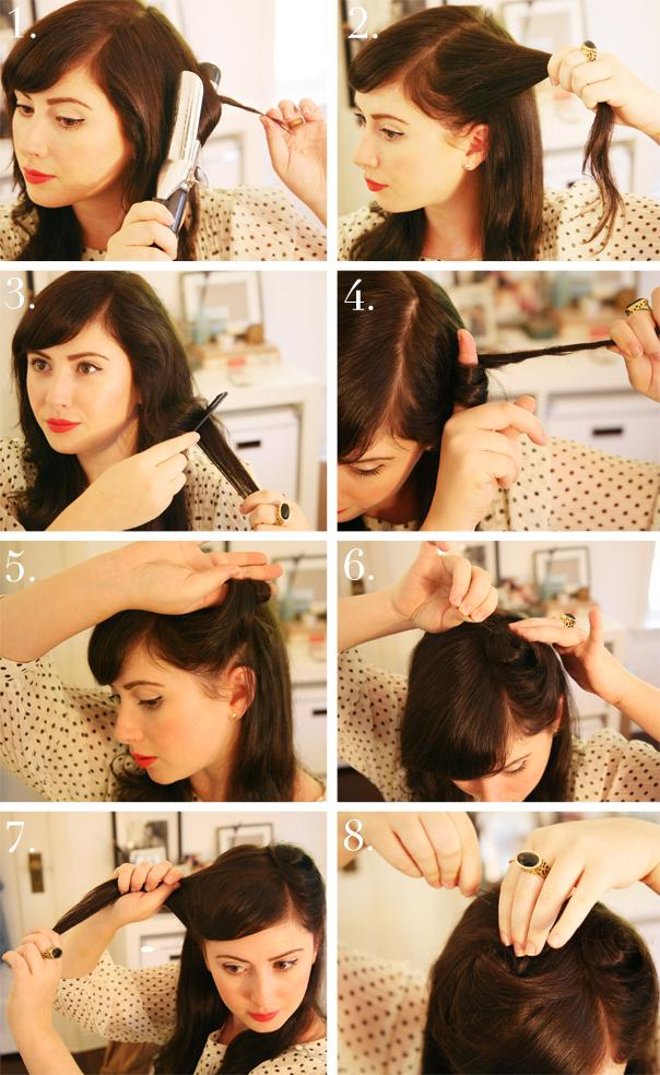 kiss-of-colour-tutorial-años-40-40s-style-tutorial-via-the-glitter ...