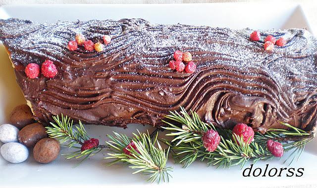 Al Baño Navidad Ha Llegado:Tronco de Navidad relleno de puré de castañas – Paperblog