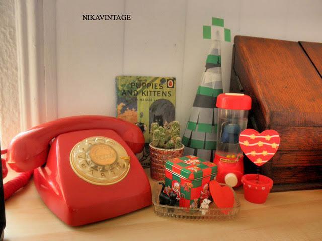 Navidad vintage paperblog - Decoracion navidad vintage ...
