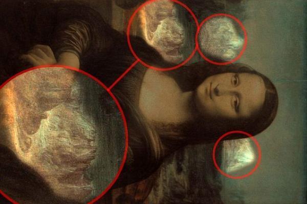 Descubren animales ocultos en el cuadro de la Mona Lisa