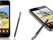 Entre Smartphone tablet, último móviles