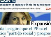 Cuando Dolores Cospedal prometía campaña privatizar recortar Sanidad, Educación, sueldos funcionarios