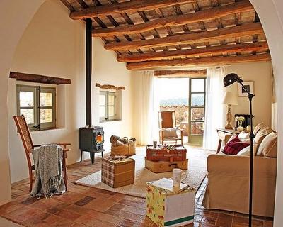 Casa rustica en cataluna paperblog - Casa y campo rustico ...