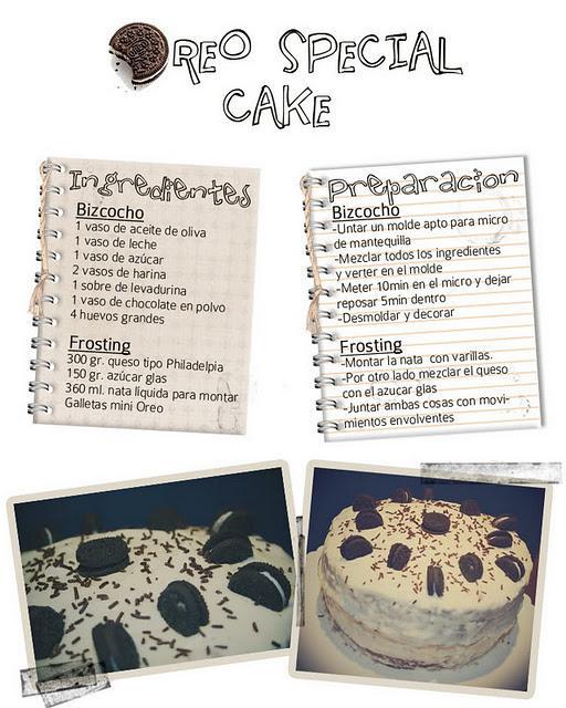 The cake I made ♥