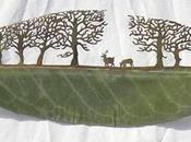 Arte hojas árboles