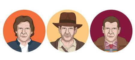 Harrison Ford cumple 40 (películas)...