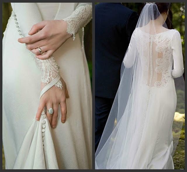 Vestido de novia de bella saga crepusculo – Hermosos vestidos