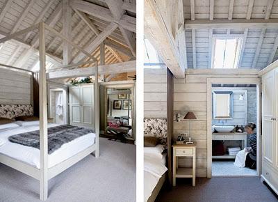 Interiores rusticos con grandes vigas paperblog for Interiores rusticos