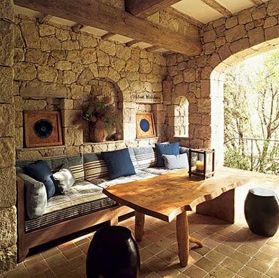 Casa rustica de piedra paperblog - Casas rusticas por dentro ...