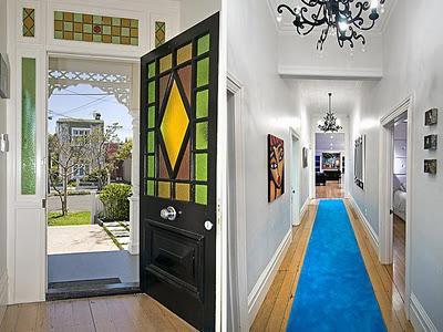 Dise o de interiores de casas algo celestial paperblog - Colores para pintar una entrada ...