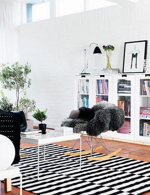 Interiores de casas minimalistas con glamour paperblog - Casas con glamour ...