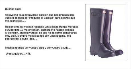 Pregunta al estilista: botas Hunter