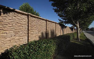 Muros de piedra artificial paperblog - Piedra para muros exteriores ...