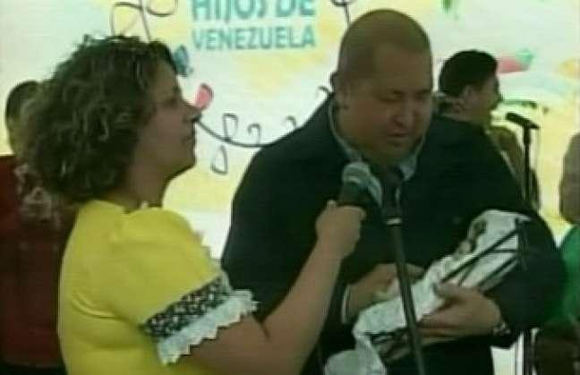 Presidente Chávez encabeza la Misión Hijos de Venezuela