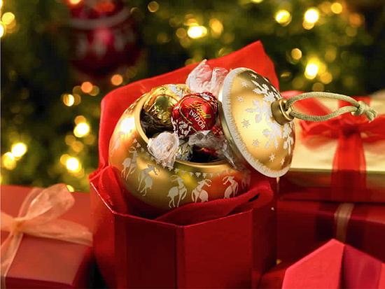 bombones para decorar en navidad