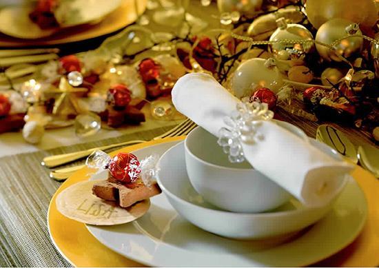 decorar en navidad con bombones