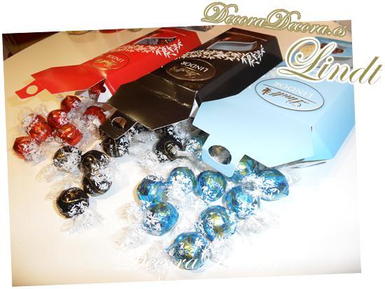 bombones envueltos para decorar en navidad