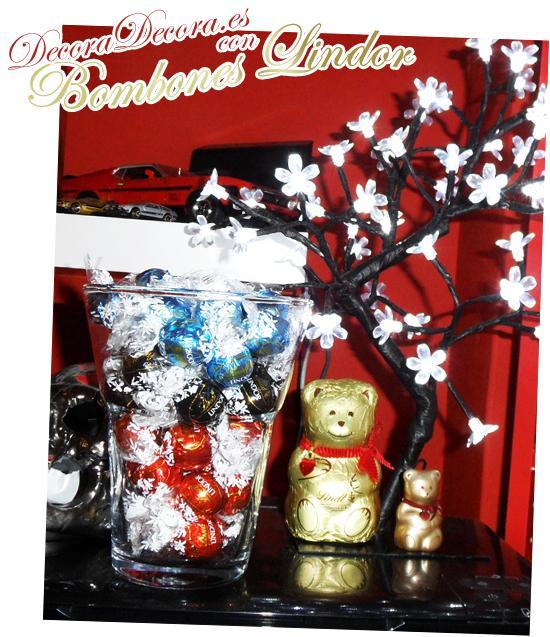 decoracion navidad bombones