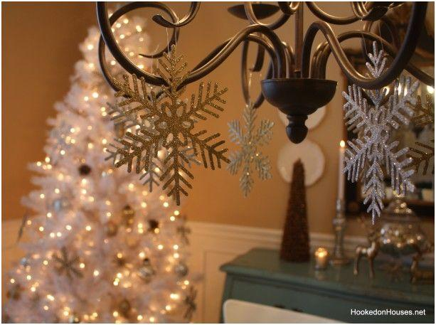 abeto de navidad blanco