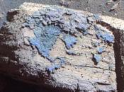Opportunity observa extrañas formaciones cráter Concepción