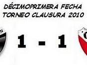 Colón:1 Independiente:1 (11° Fecha)