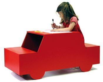 escritorios coche y camin para nios de cocktail designers