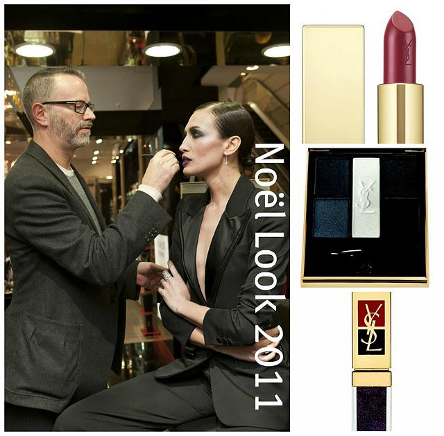 HOLIDAY LOOK 2011 Yves Saint Laurent