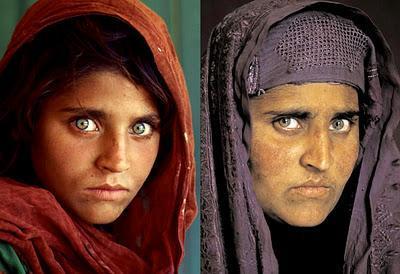 De niña a mujer afgana