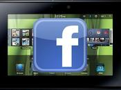 Actualizado: Facebook para BlackBerry PlayBook v.2.1.0.36
