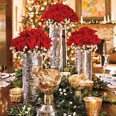 Ideas para decorar la mesa en nochebuena y navidad paperblog - Centrotavola natalizi pinterest ...