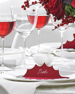 Ideas para decorar la mesa en nochebuena y navidad paperblog for Mesa de navidad elegante